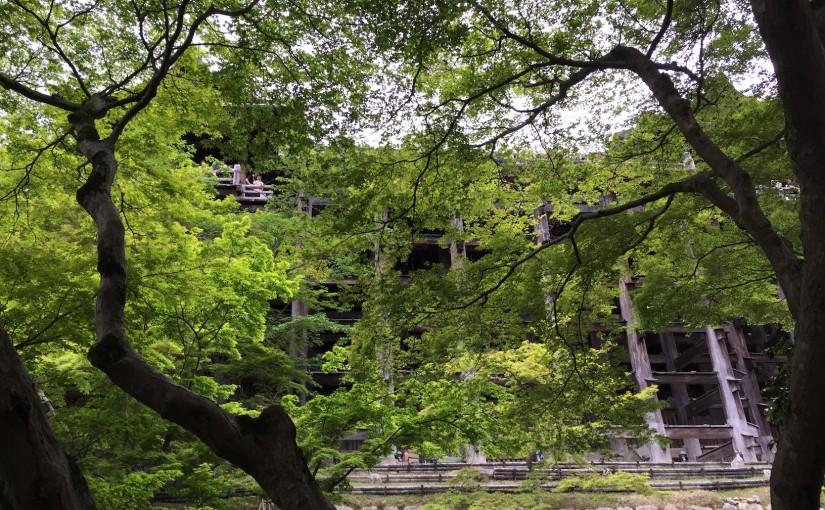清水寺と中国人観光客