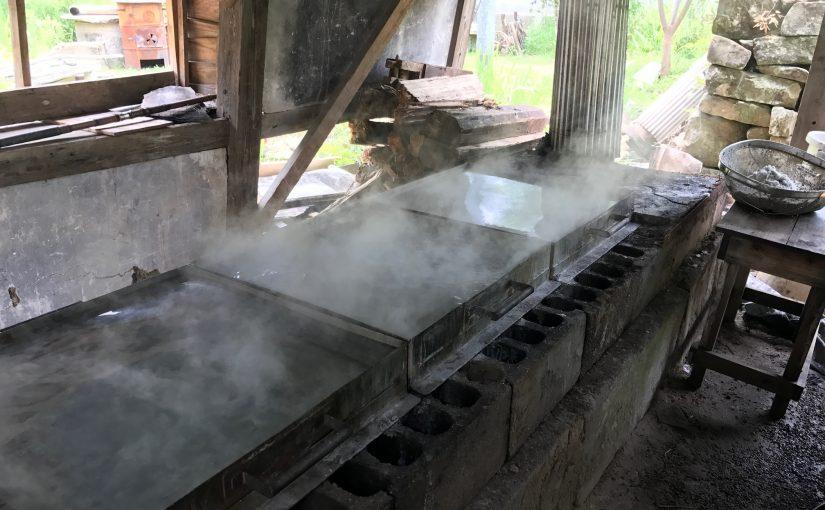 塩炊き体験